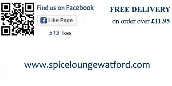 facebook profile link of Spice lounge restaurant
